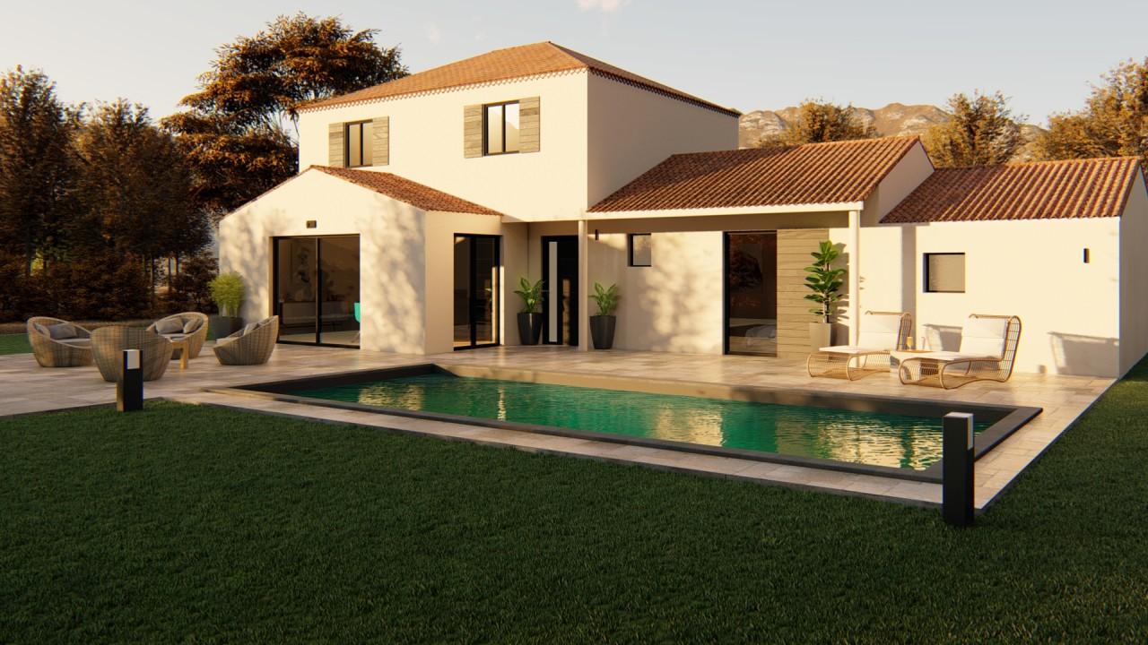 249 000 € Maison + Terrain LE BARROUX (84330)
