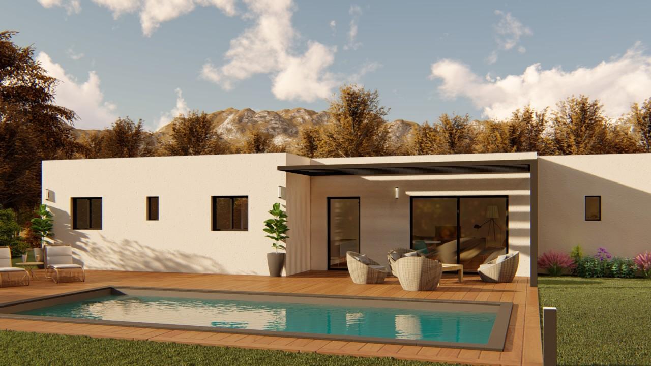 258 000€ Projet Terrain + Maison Sur Vaison la Romaine