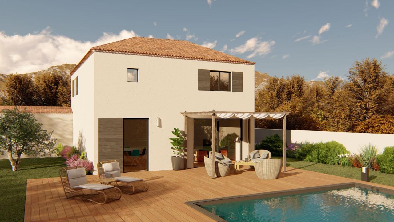 238 500€ Projet de terrain + maison à vendre et à bâtir à Monteux (84170)