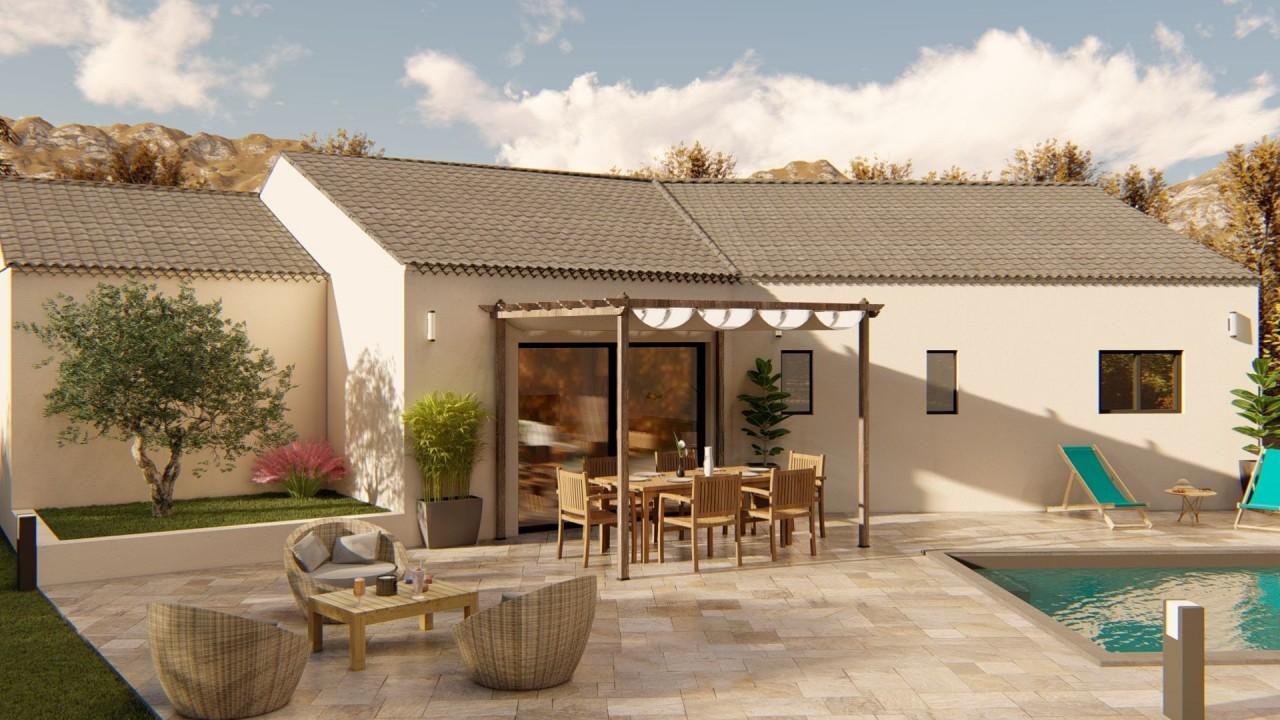 246 500€ Terrain avec maison neuve Saint-Didier (84210)